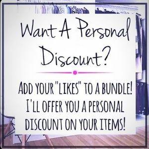 Accessories - Add favorites to a bundle for a discount!